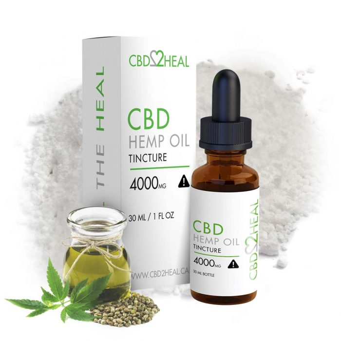 CBD Hemp Oil 4000mg