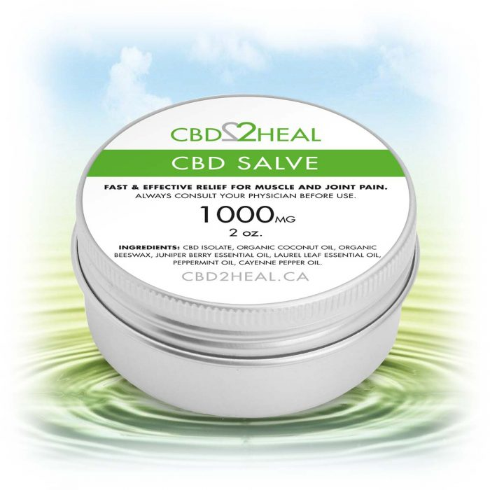 CBD Cream Salve 1000mg