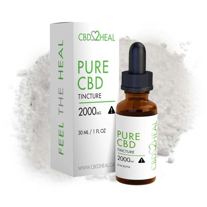 Pure CBD Oil 2000mg