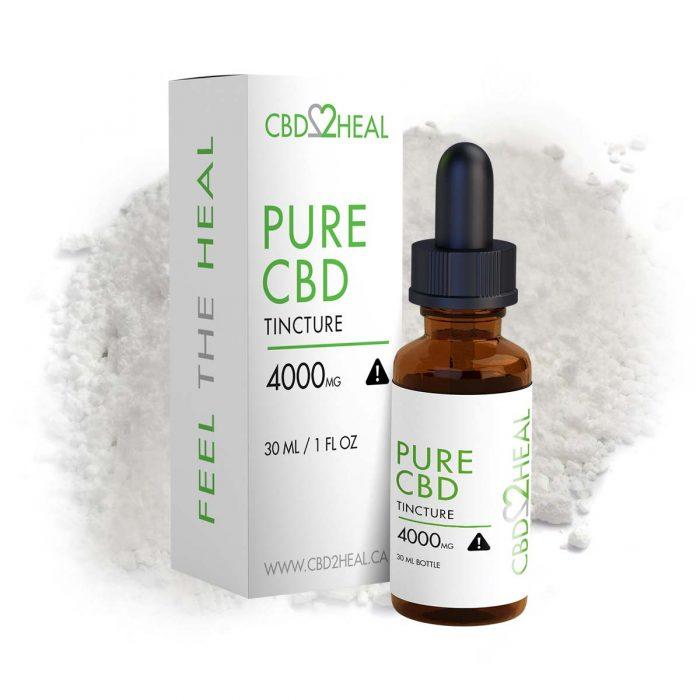 Pure CBD Oil 4000mg