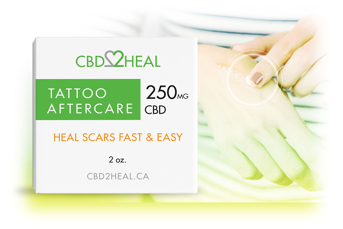 CBD Tattoo Cream 250mg