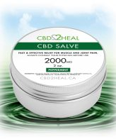 CBD Pain Cream Peppermint 2000mg