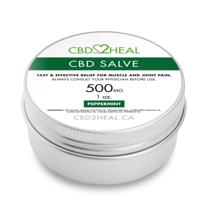 CBD Pain Cream Peppermint 500mg