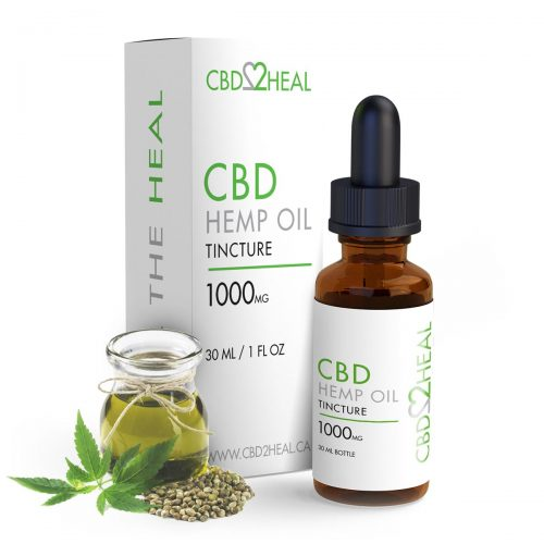 CBD Hemp Oil 1000mg