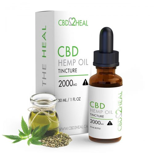 CBD Hemp Oil 2000mg