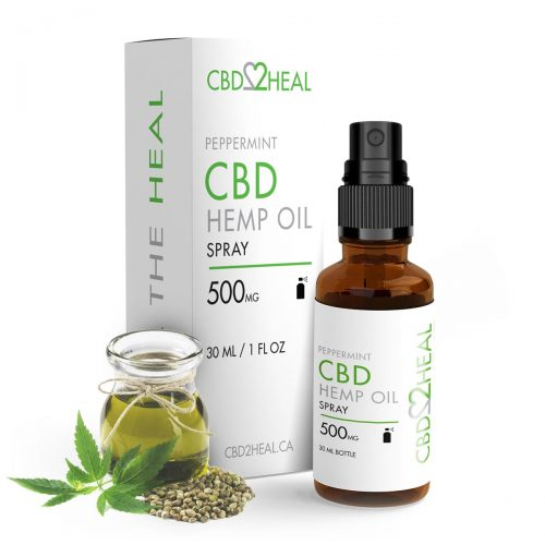 CBD Hemp Oil Spray 500mg