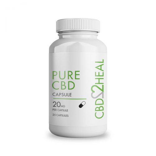 Pure CBD Oil Capsules 500mg