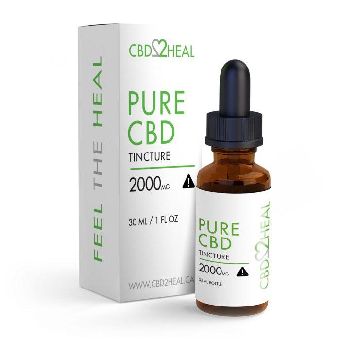 Pure CBD Oil 2000mg