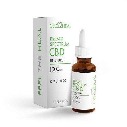 CBD2HEAL Broad Spectrum Oil 1000mg